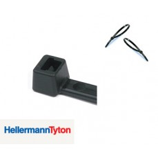 100 x 2.5mm Black Cable Ties