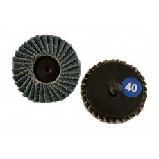 Twist Lock Zirconium Flap Disc 50mm P60