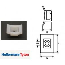 Hellerman LKC Cable Tie Base Natural