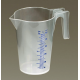 Measuring Jug Translucent 0.5ltr