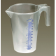 Measuring Jug Translucent 1ltr