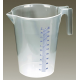 Measuring Jug Translucent 5ltr