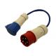 Silverstone Circuit Upper Paddock Power Adaptor 32A 3PH - 16A